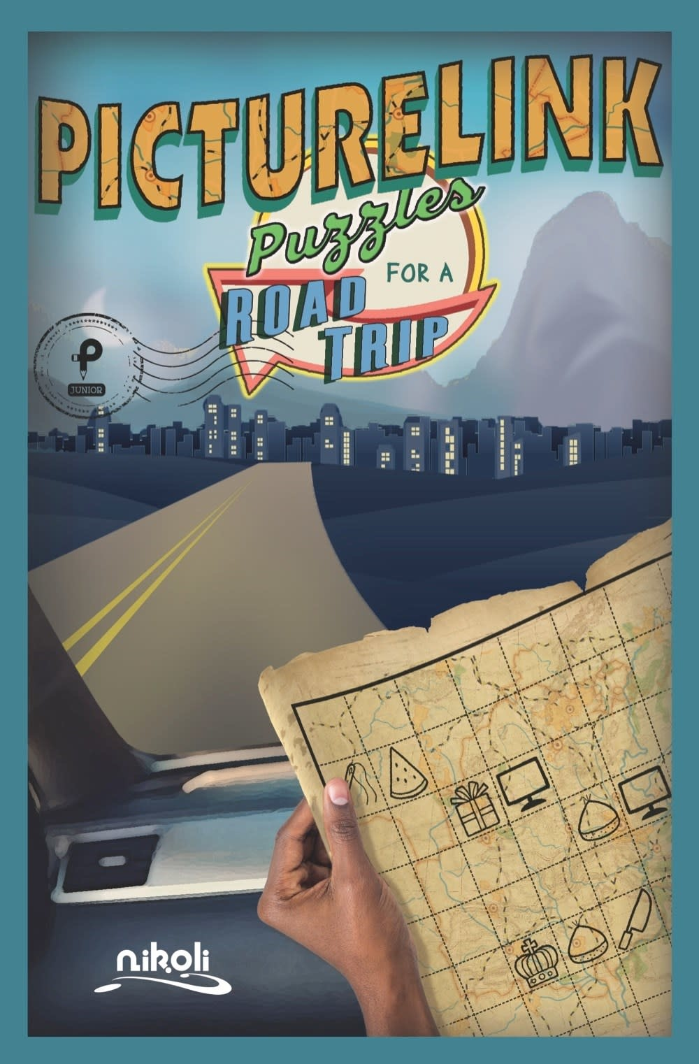 Puzzlewright Junior Puzzles for a Road Trip: Picturelink