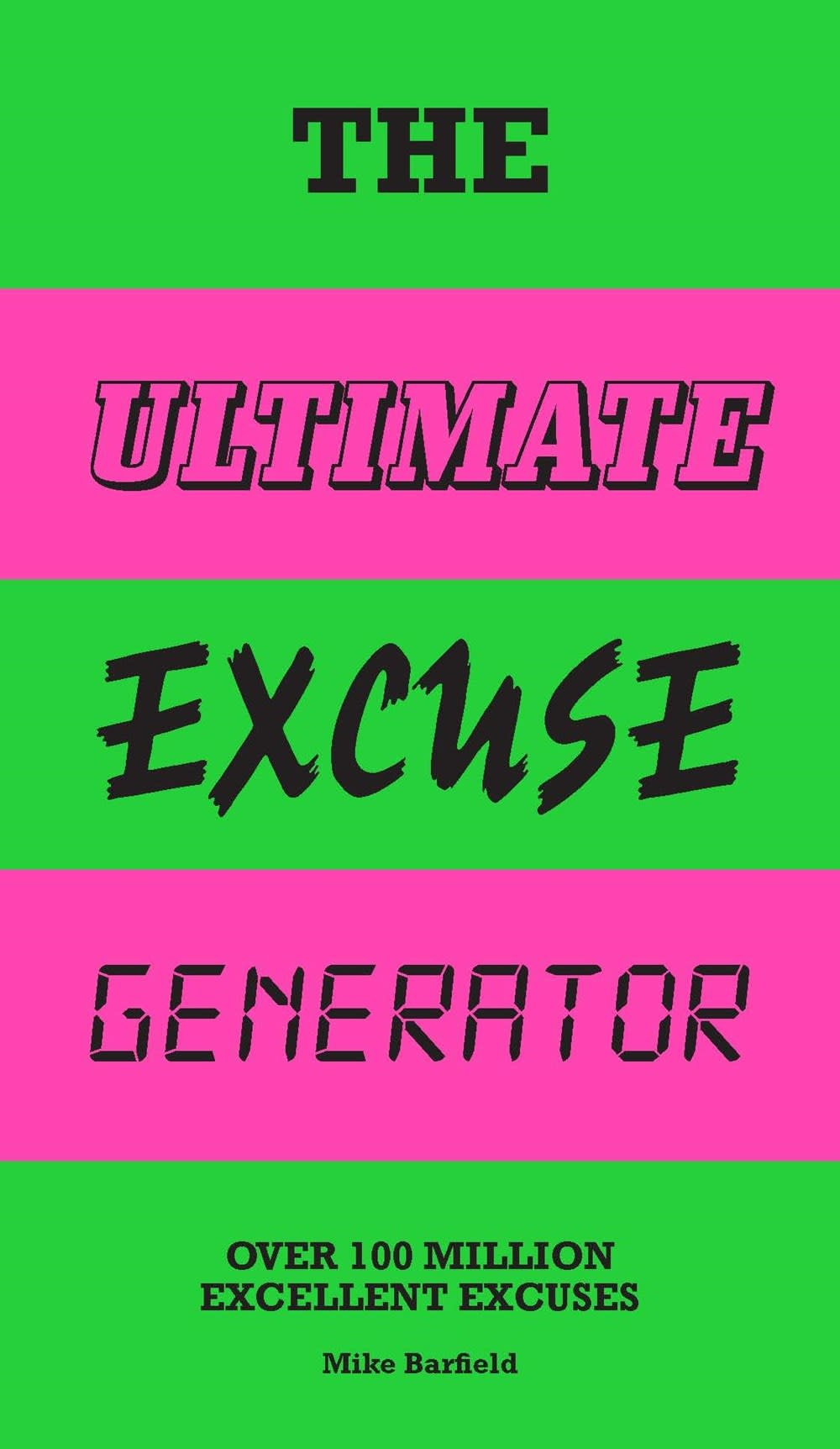 Laurence King Publishing The Ultimate Excuse Generator