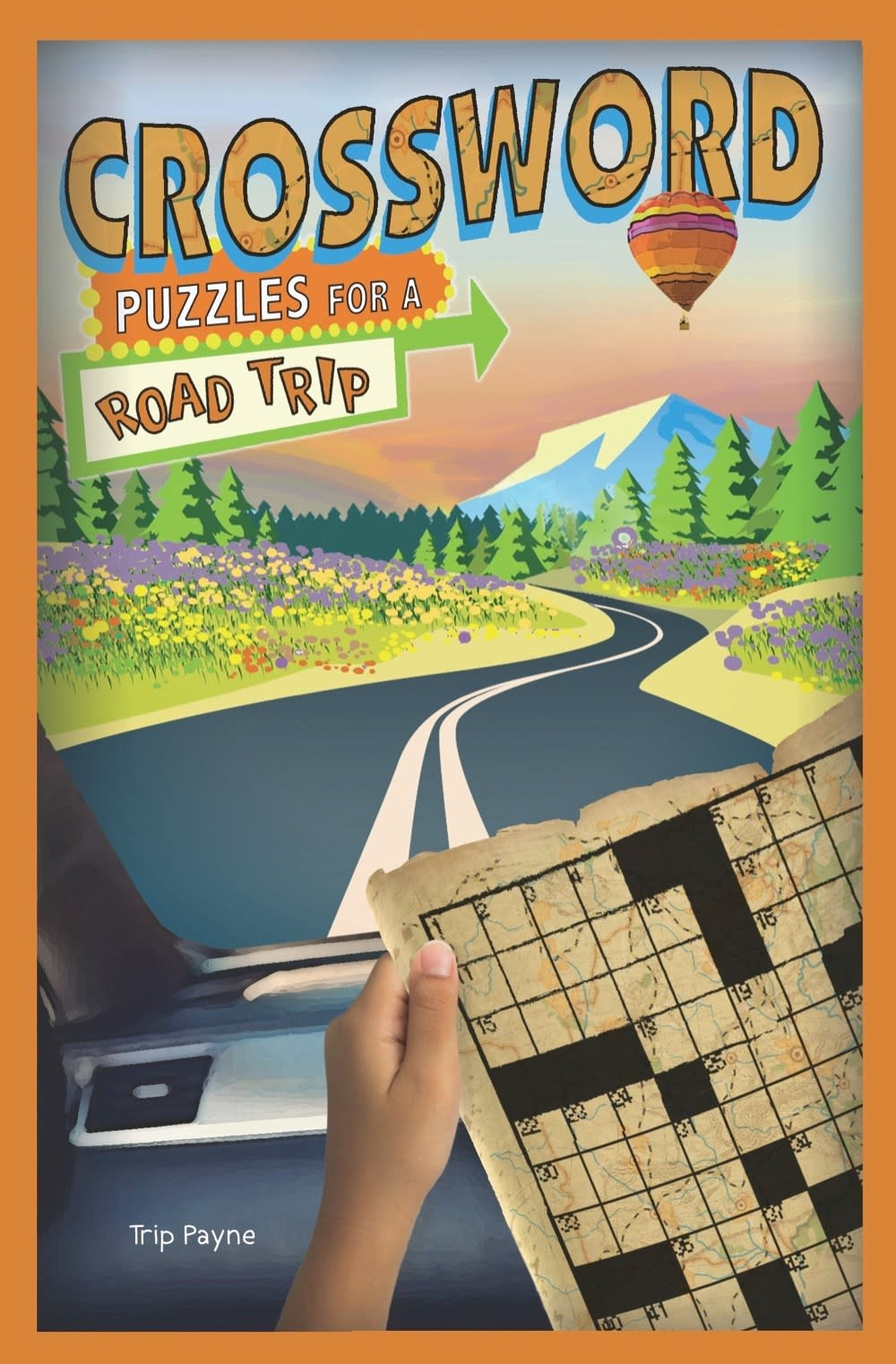 Puzzlewright Junior Puzzles for a Road Trip: Crossword