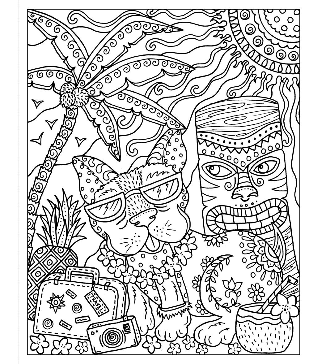 Castle Point Books Zendoodle Coloring: Dogs on Vacation