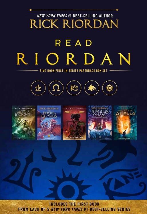 Disney-Hyperion Read Riordan Paperback Boxed Set (5 Books)