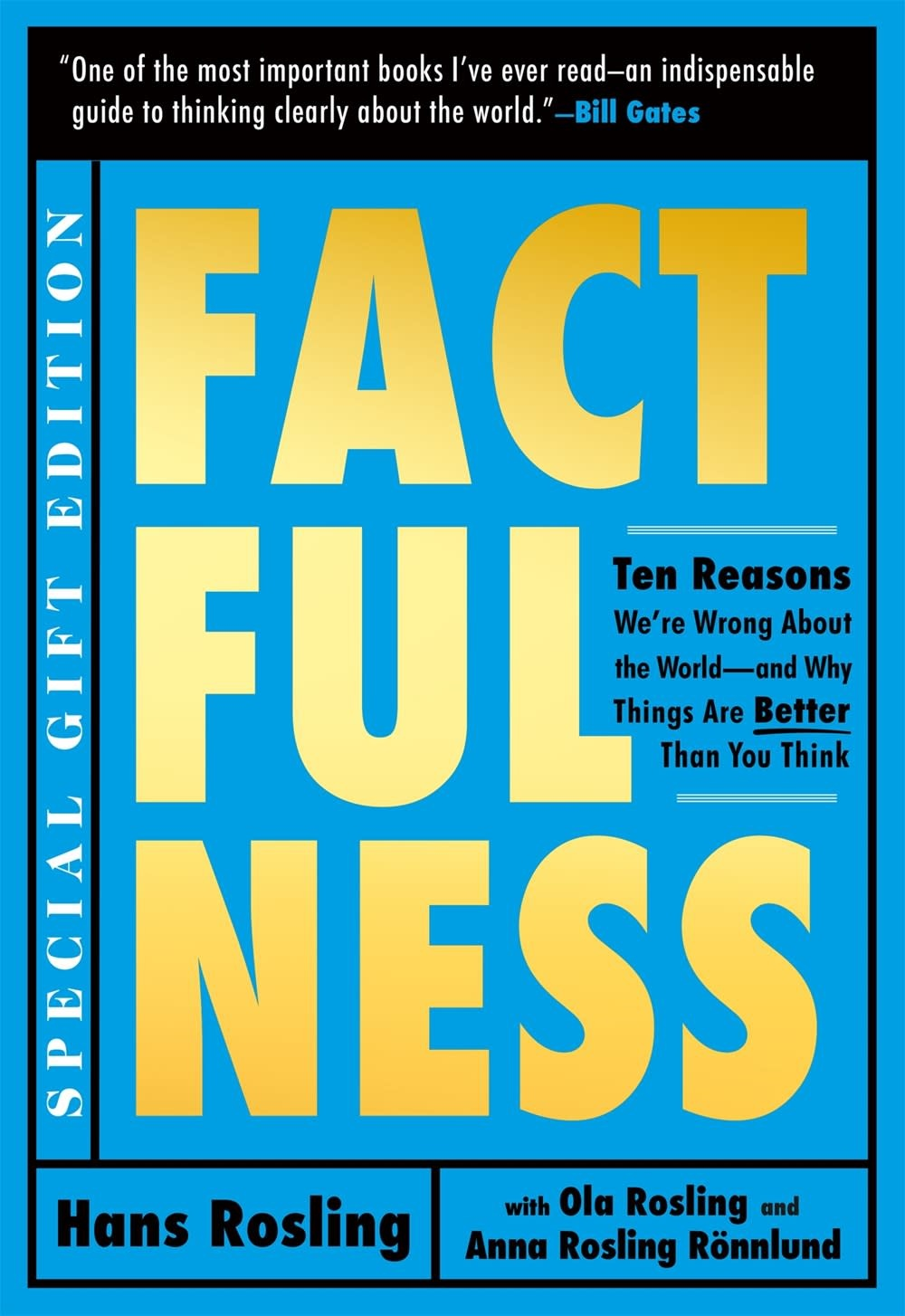 Flatiron Books Factfulness Illustrated: 10 Reasons We're Wrong About the World...