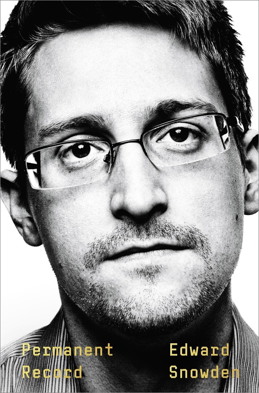 Metropolitan Books Permanent Record [Edward Snowden]
