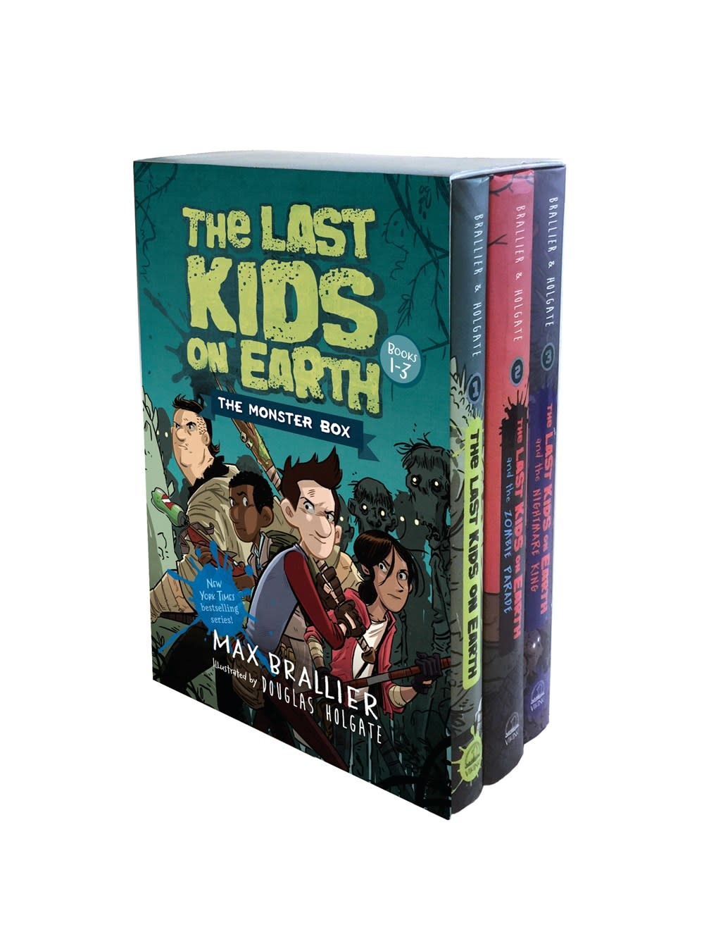 Viking Books for Young Readers The Last Kids on Earth: The Monster Box (#1-3)