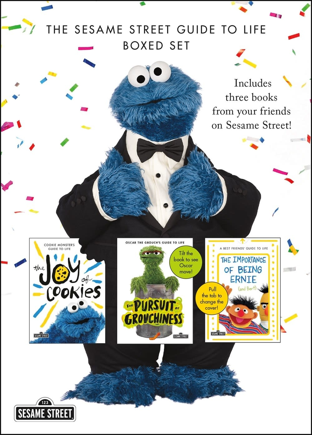 Imprint Sesame Street Guide to Life Boxed Set (3 Books)