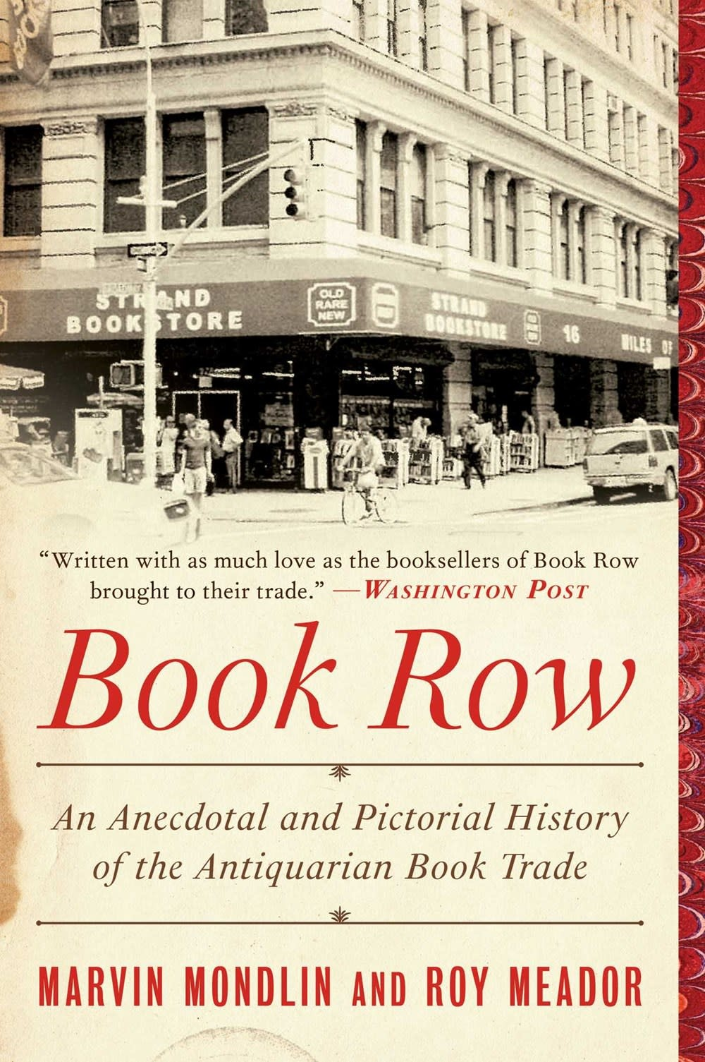 Skyhorse Book Row: ...History of the Antiquarian Book Trade