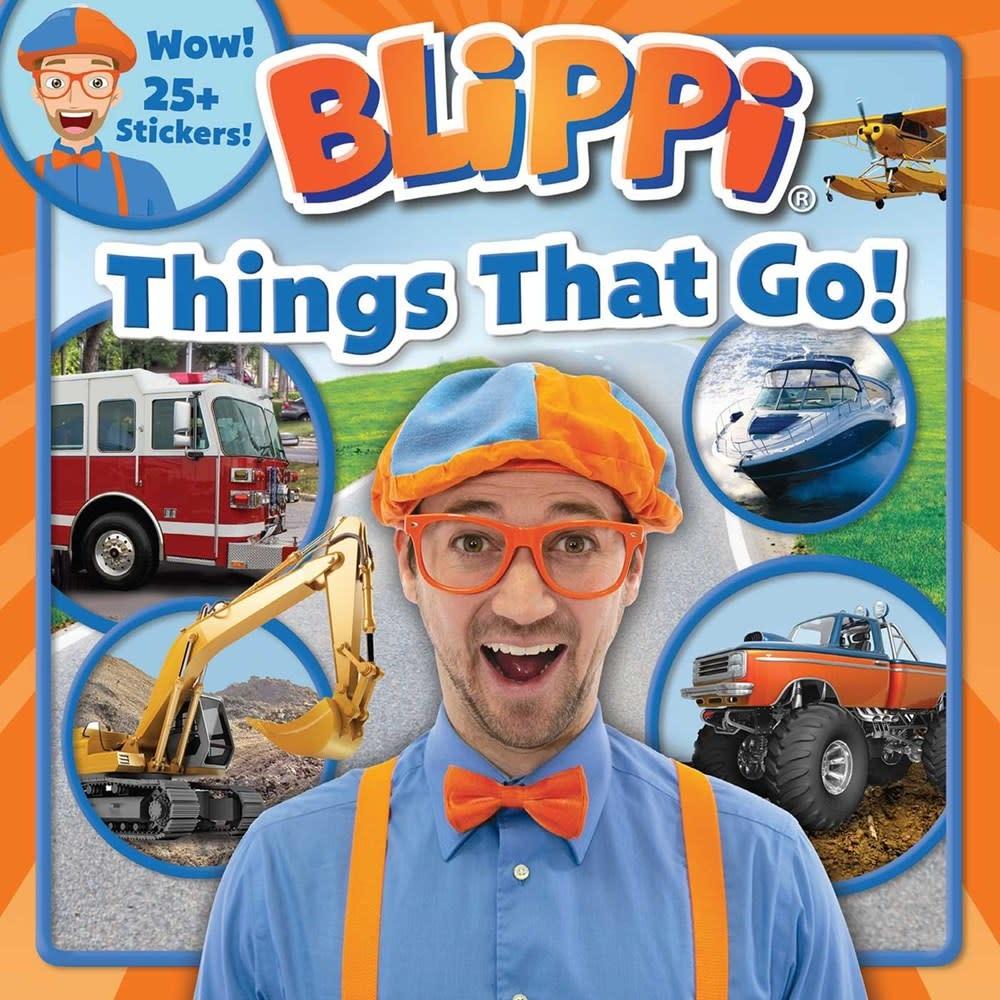 Printers Row Blippi: Things That Go!