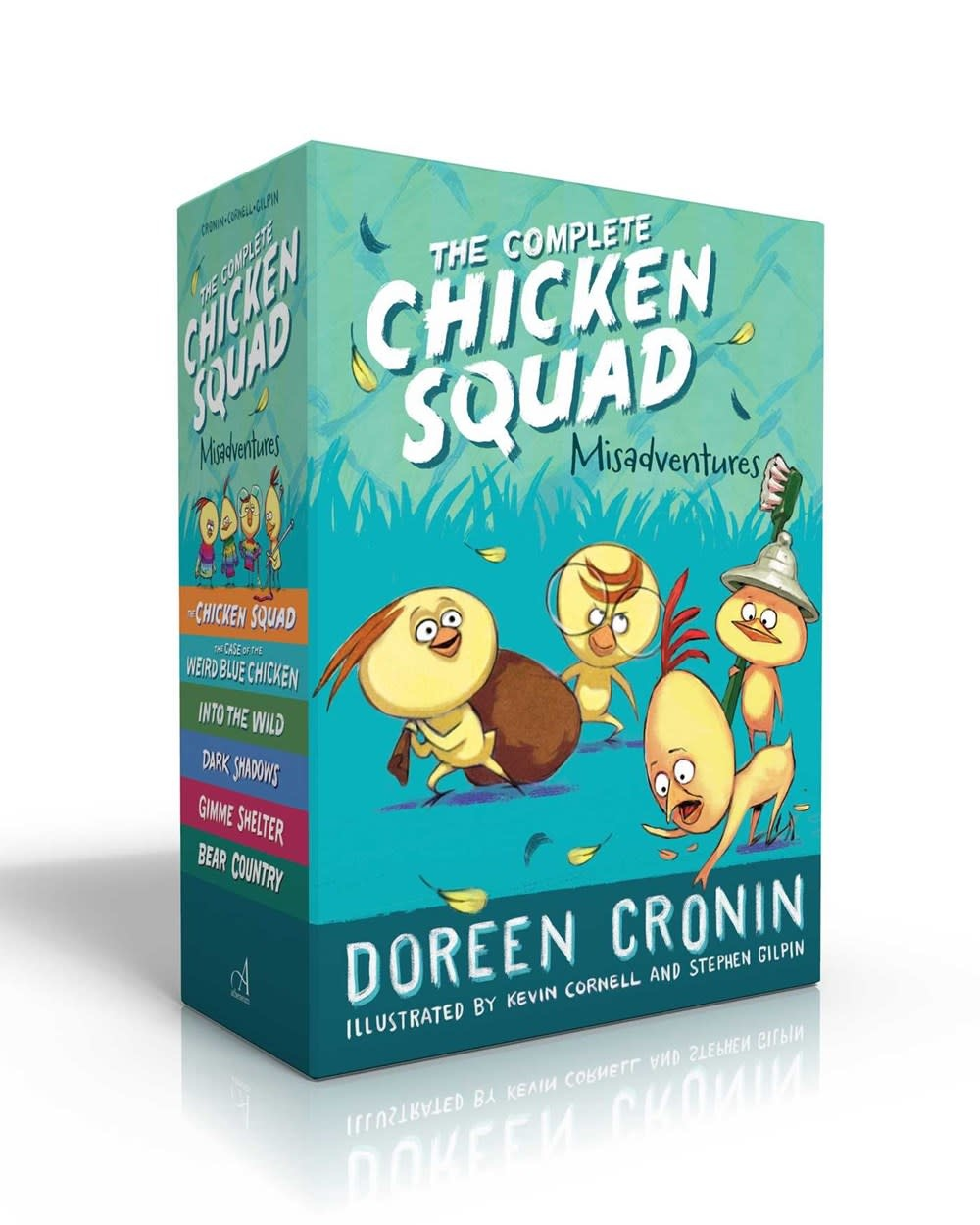 Atheneum/Caitlyn Dlouhy Books Complete Chicken Squad Misadventures Boxed Set (6 Books)