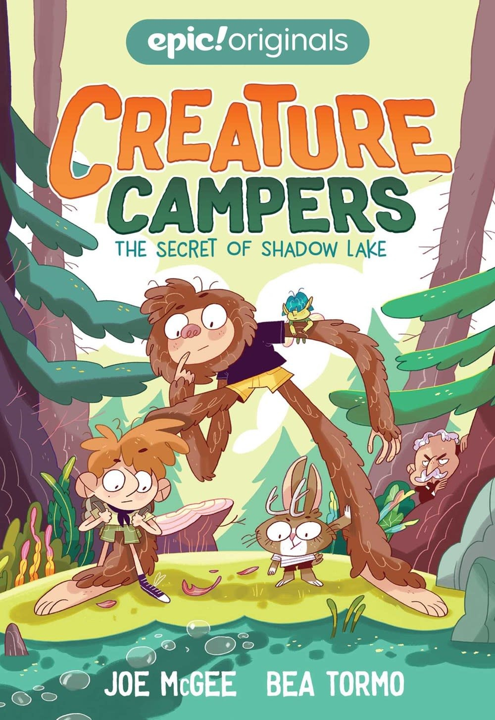 Andrews McMeel Publishing Creature Campers 01 The Secret of Shadow Lake