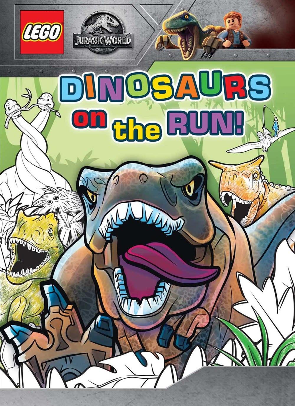 Printers Row LEGO Jurassic World: Dinosaurs on the Run!