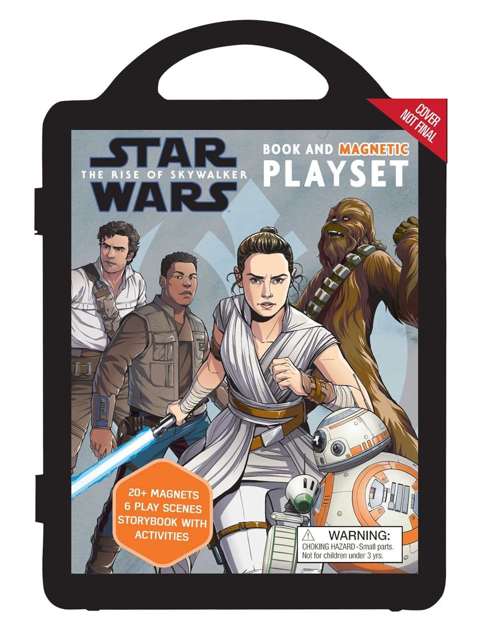 Printers Row Star Wars: The Rise of Skywalker: Book and Magnetic Playset