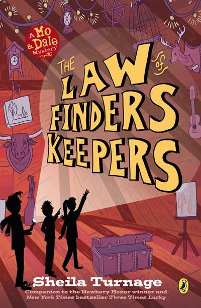 Puffin Books The Law of Finders Keepers