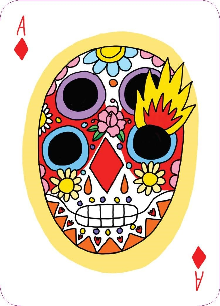 Laurence King Publishing Playing Cards: Day of the Dead