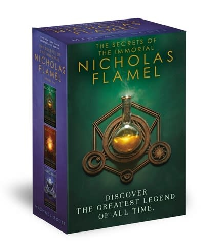 Ember Secrets of the Immortal Nicholas Flamel Boxed Set (3 Books)