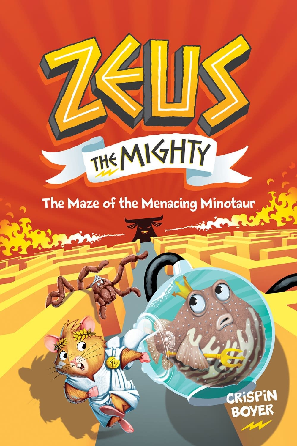 Under the Stars Zeus The Mighty 02 The Maze of the Menacing Minotaur