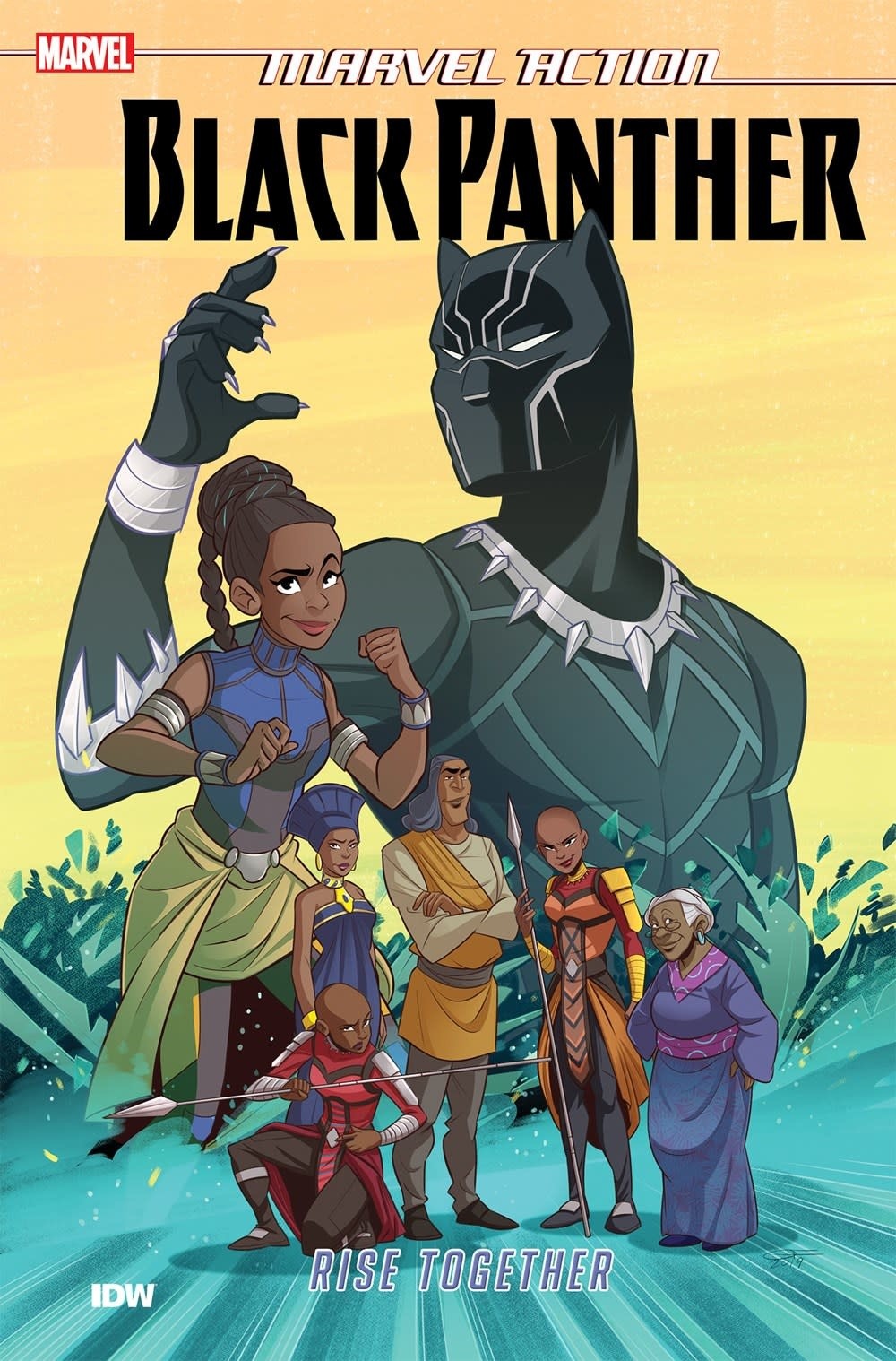 IDW Publishing Marvel Action: Black Panther: Rise Together (Book Two)