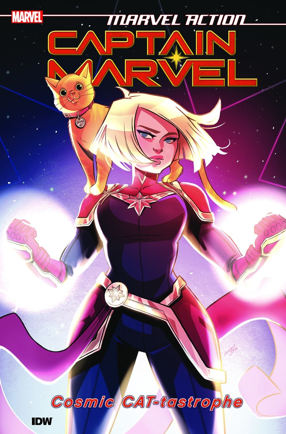 IDW Publishing Marvel Action: Captain Marvel: Cosmic CAT-tastrophe