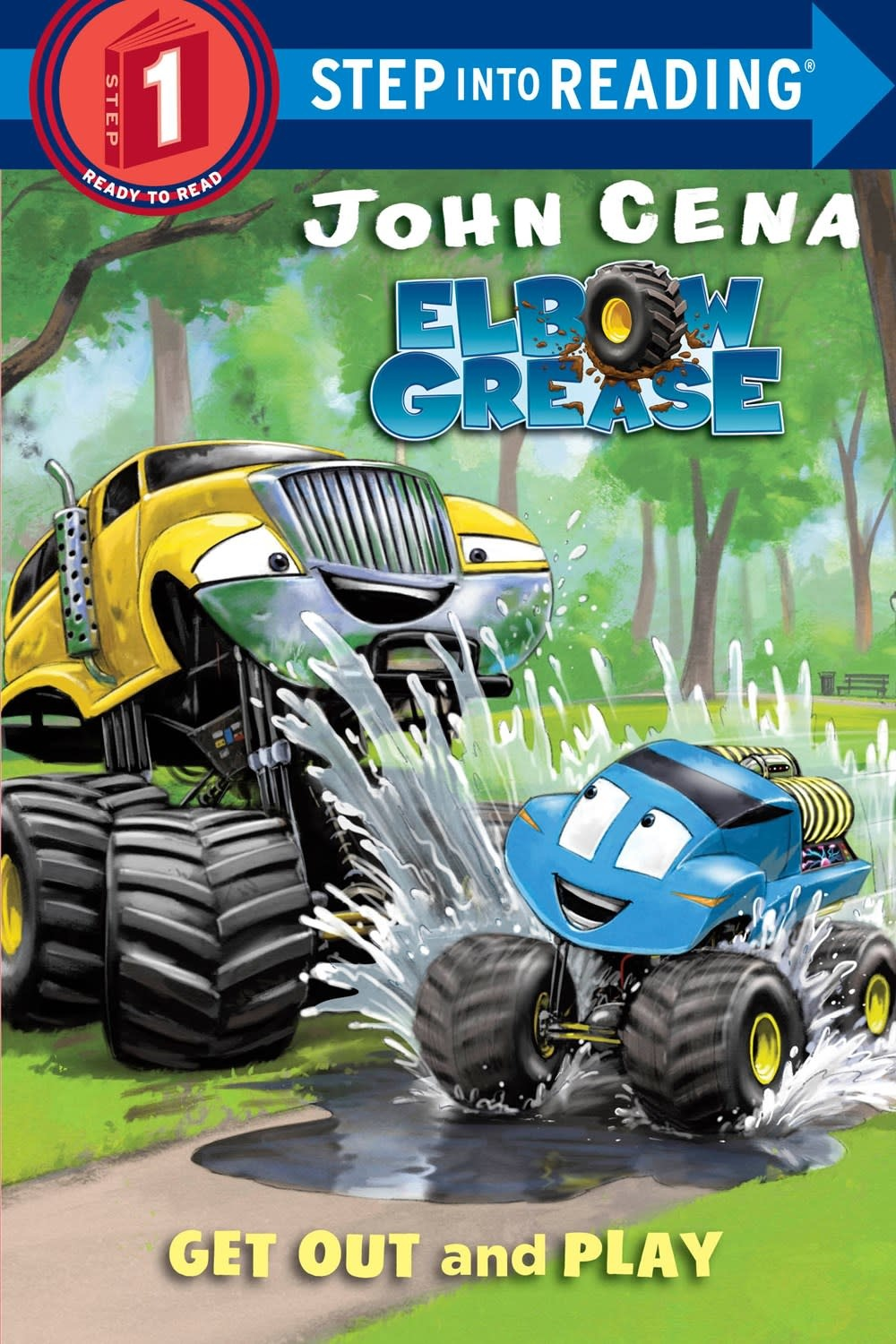 Random House Books for Young Readers Elbow Grease: Get Out and Play (Step-Into-Reading, Lvl 1)