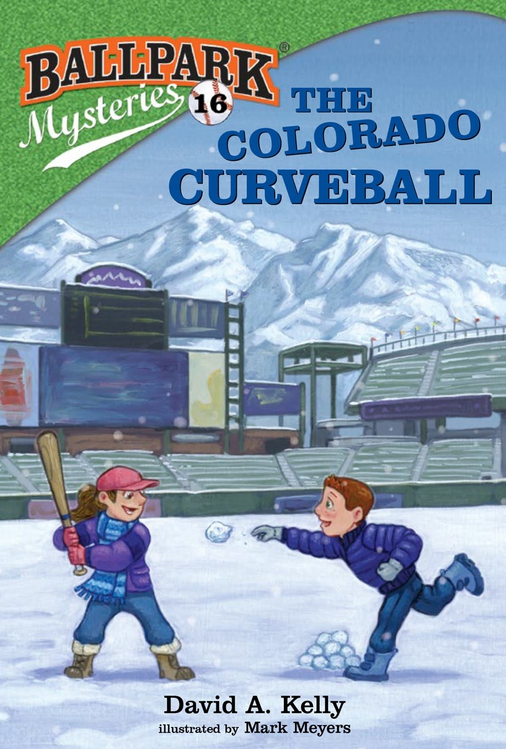 Random House Books for Young Readers Ballpark Mysteries 16 The Colorado Curveball