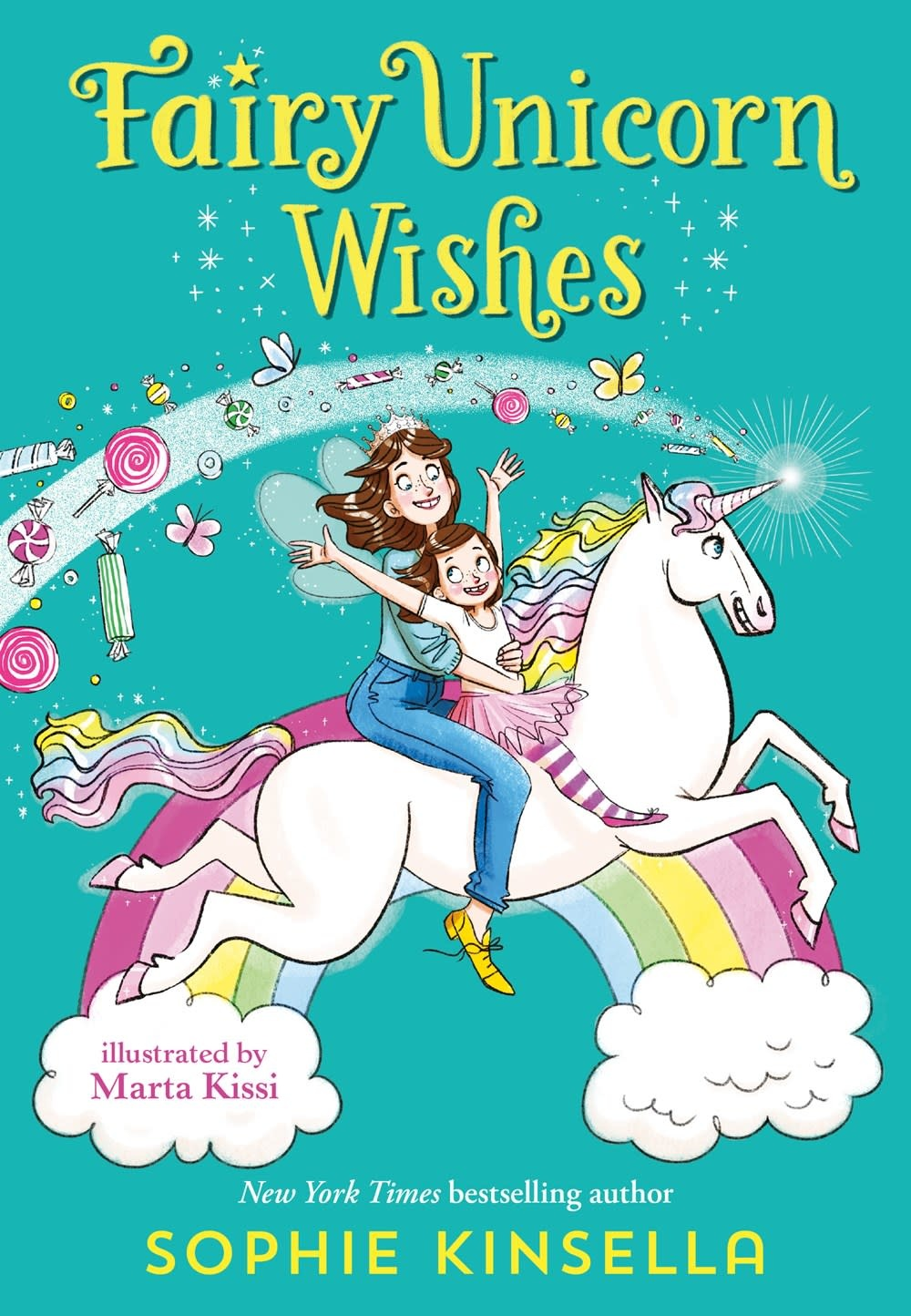 Delacorte Books for Young Readers Fairy Mom and Me 03 Fairy Unicorn Wishes