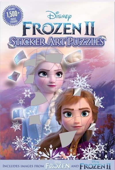 Thunder Bay Press Disney Frozen 2 Sticker Art Puzzles