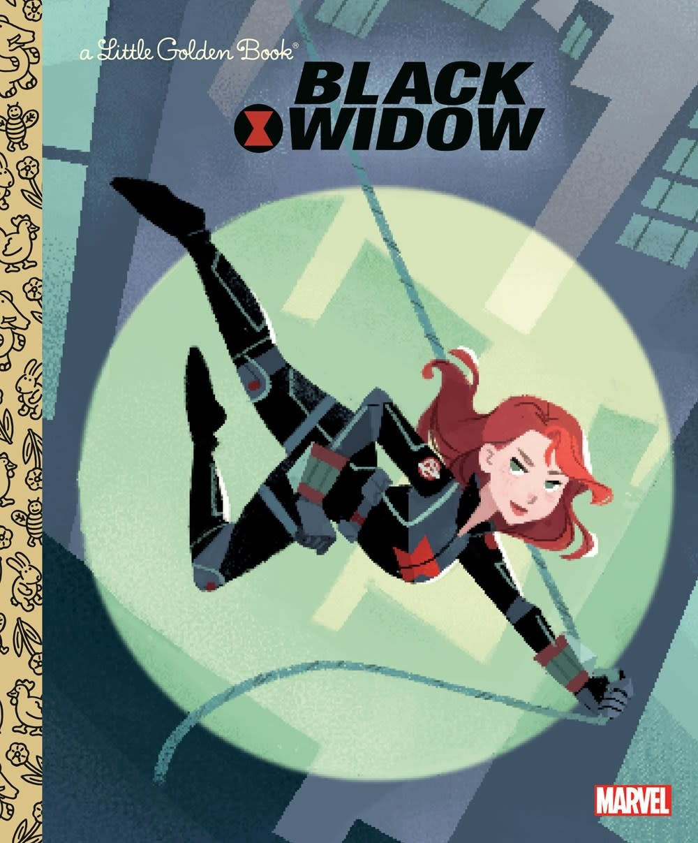 Golden Books Marvel: Black Widow