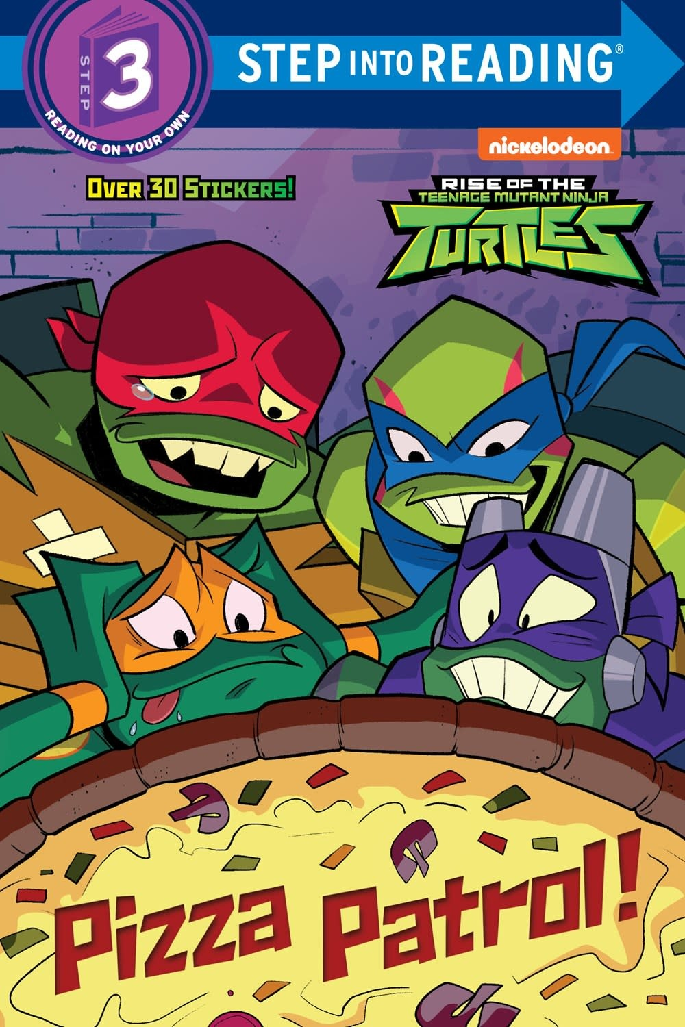 Random House Books for Young Readers Rise of the Teenage Mutant Ninja Turtles: Pizza Patrol! (Step-into-Reading, Lvl 3)