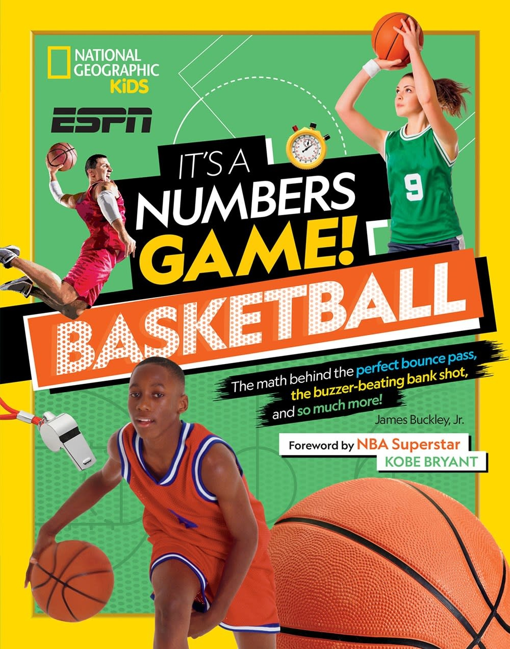 National Geographic Children's Books Nat Geo Kids: It's a Numbers Game! Basketball