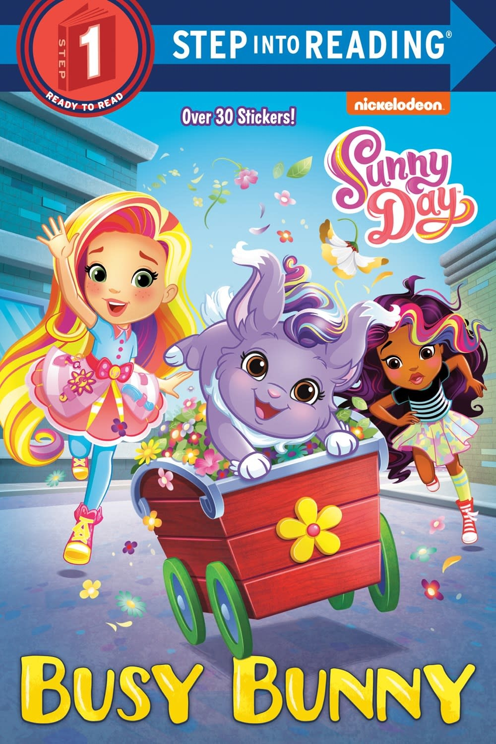 Random House Books for Young Readers Sunny Day: Busy Bunny (Step-into-Reading, Lvl 1)
