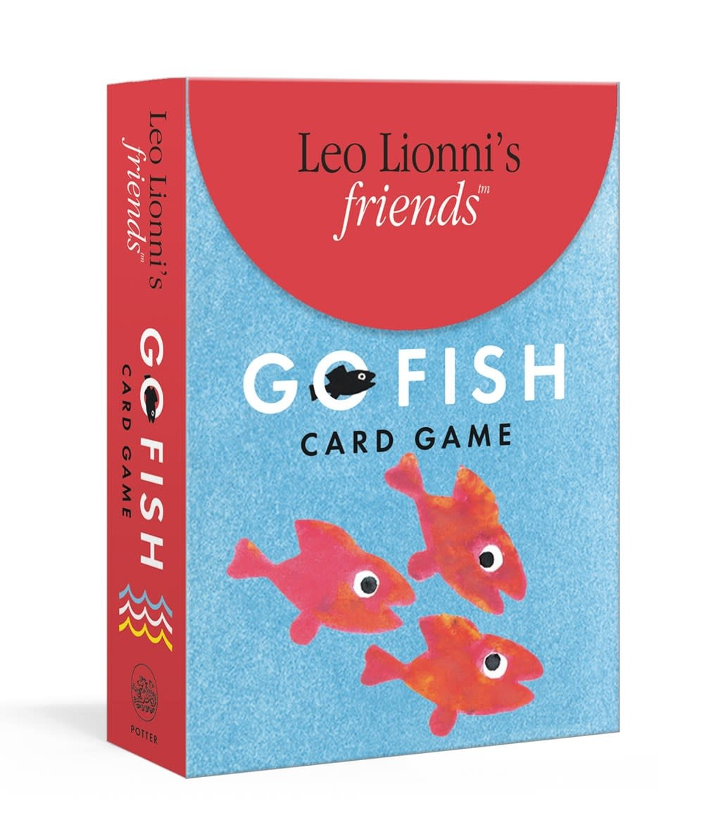 Clarkson Potter Leo Lionni's Friends: Go Fish (Card Game)