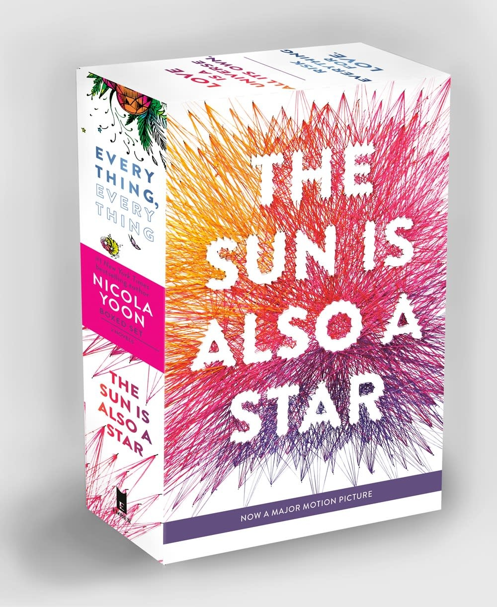 Ember Nicola Yoon Boxed Set (The Sun is Also a Star & Everything, Everything)