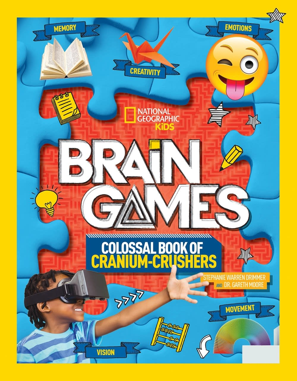 National Geographic Children's Books Brain Games