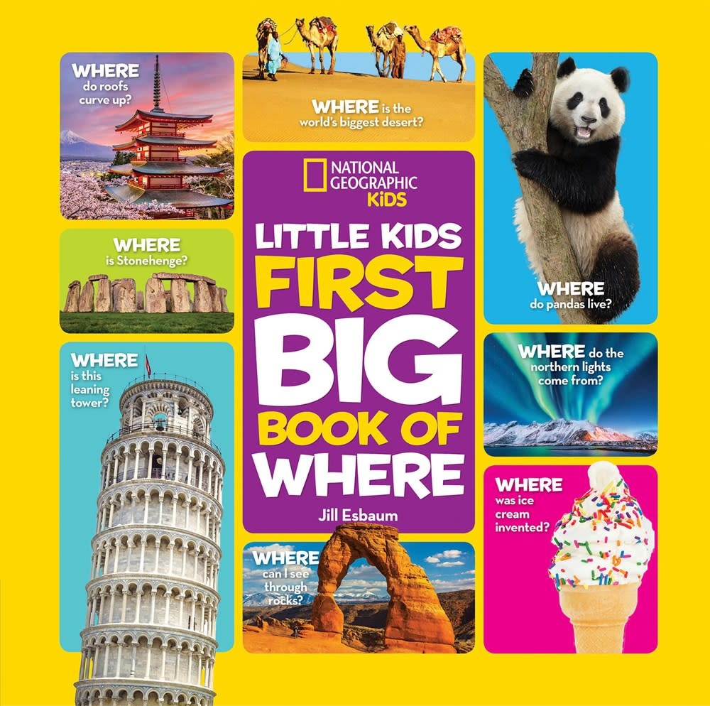 National Geographic Children's Books Nat Geo Little Kids: First Big Book of Where