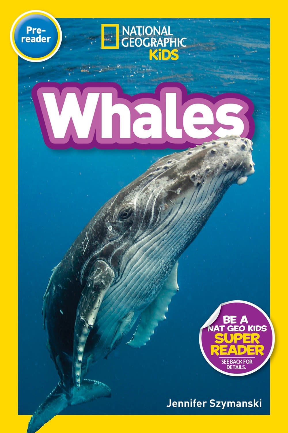 National Geographic Children's Books Whales (Nat Geo Readers, Lvl Pre-1)