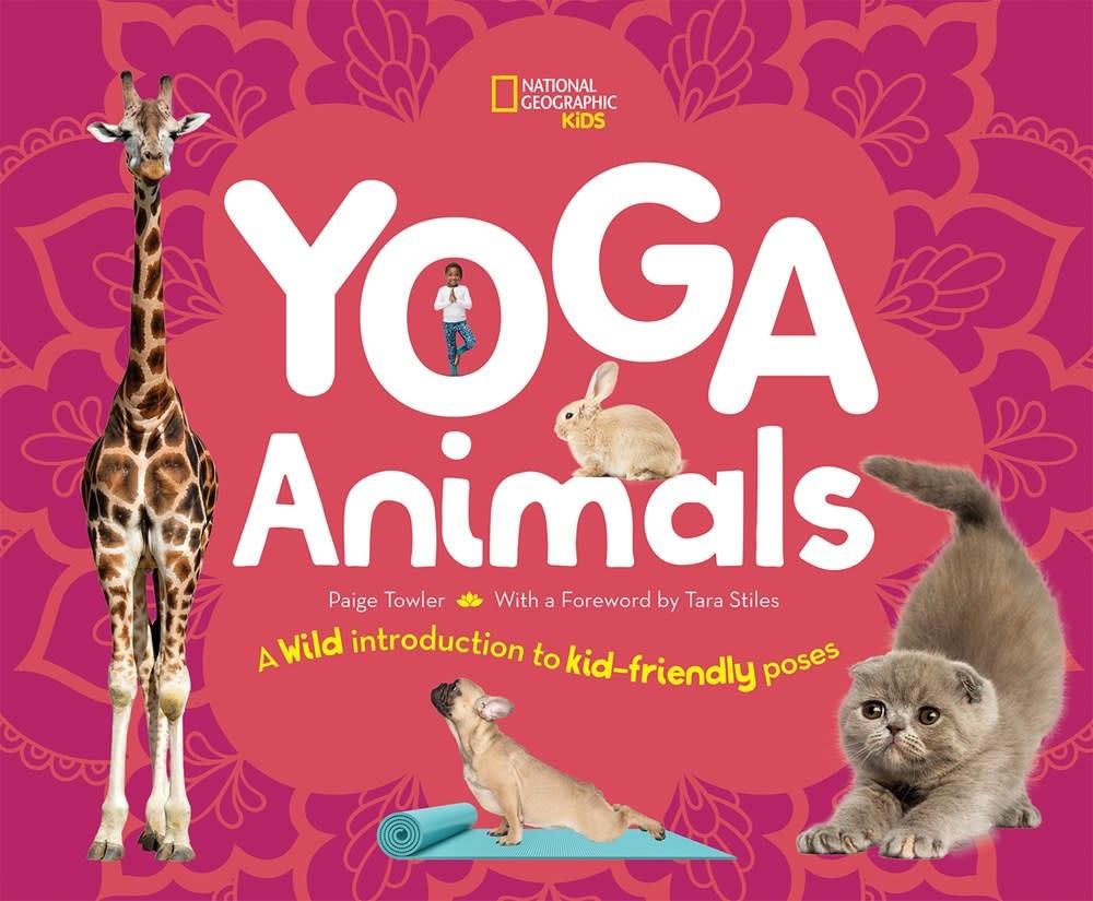 National Geographic Children's Books Nat Geo Kids: Yoga Animals