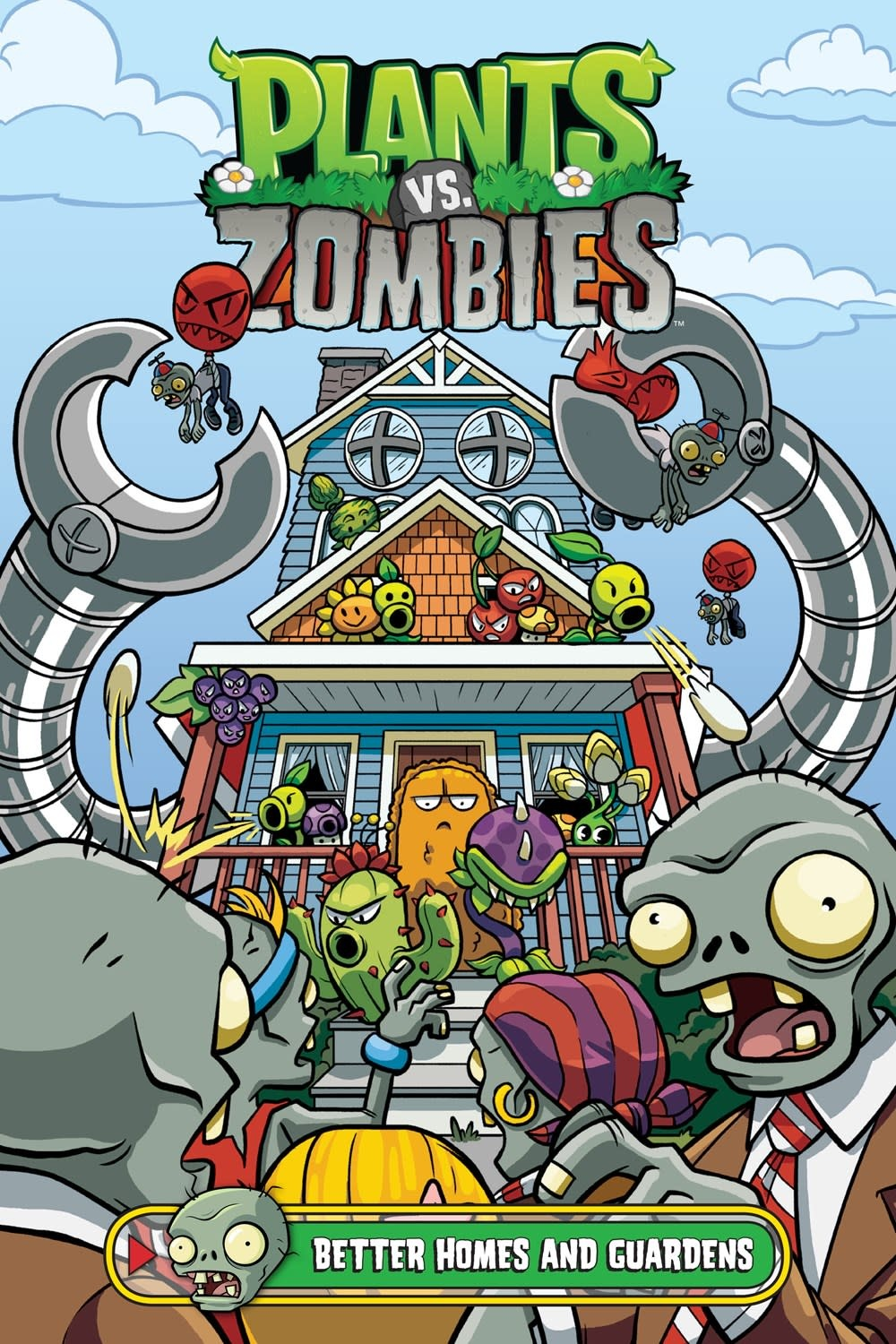 Dark Horse Books Plants vs. Zombies Volume 15: Better Homes and Guardens