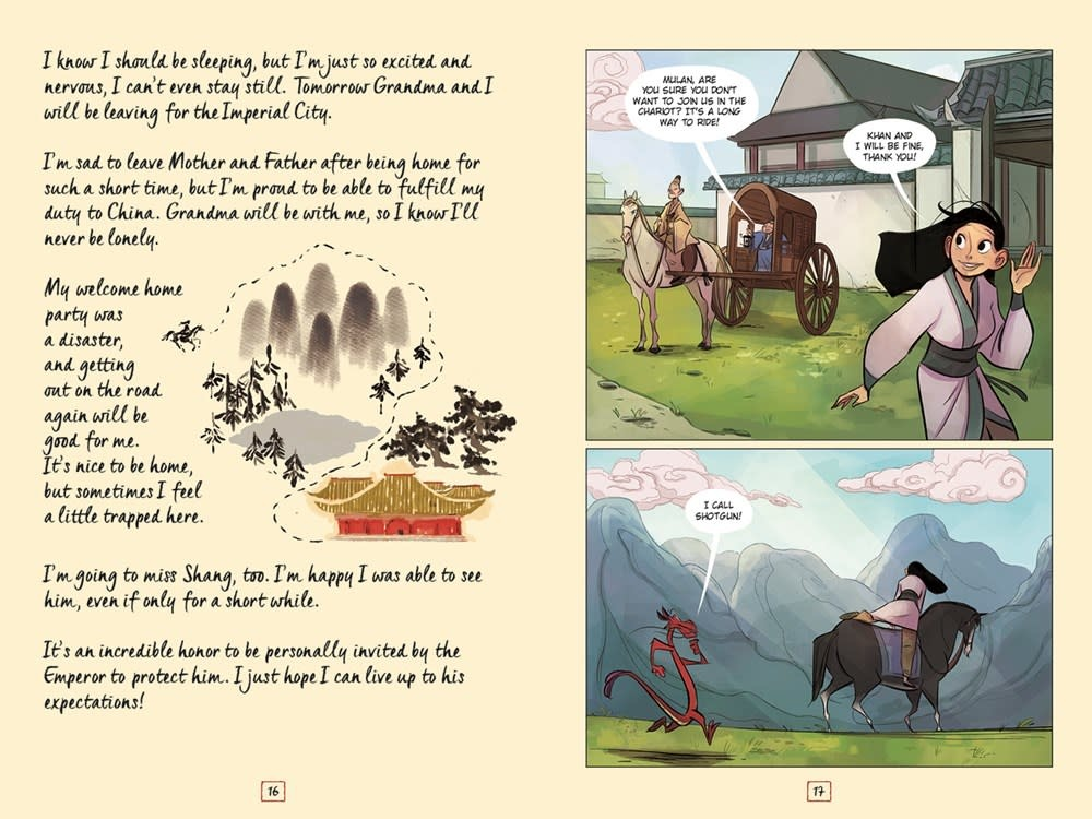 Dark Horse Books Disney Mulan's Adventure Journal: The Palace of Secrets