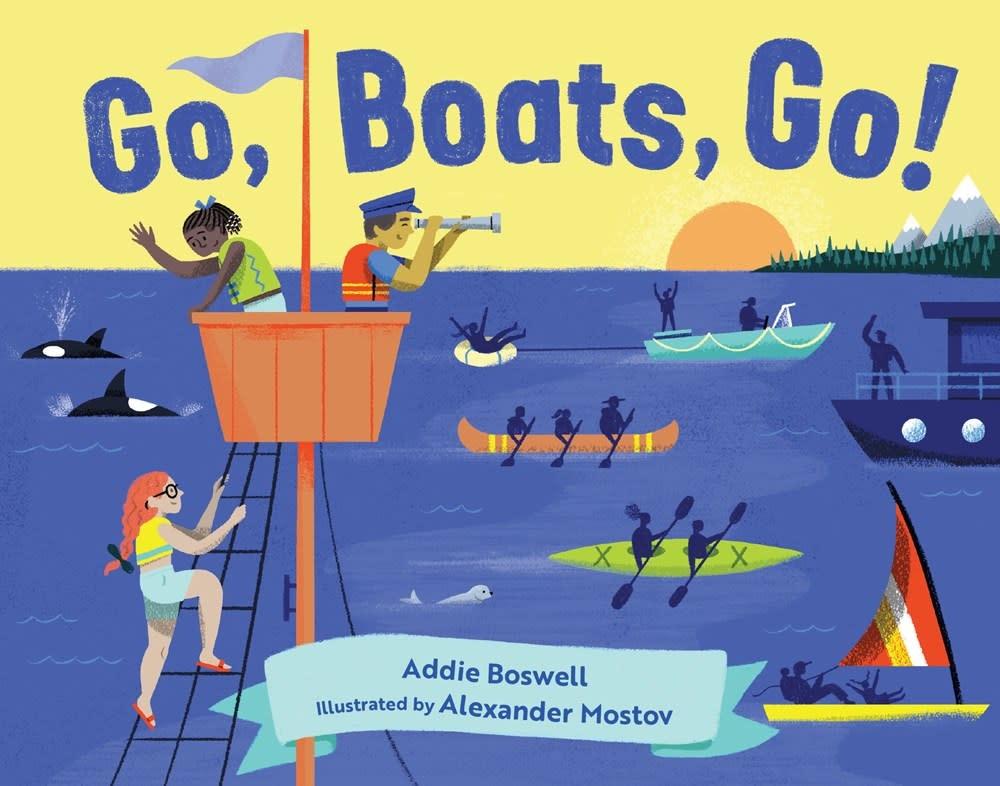 Little Bigfoot Go, Boats, Go!
