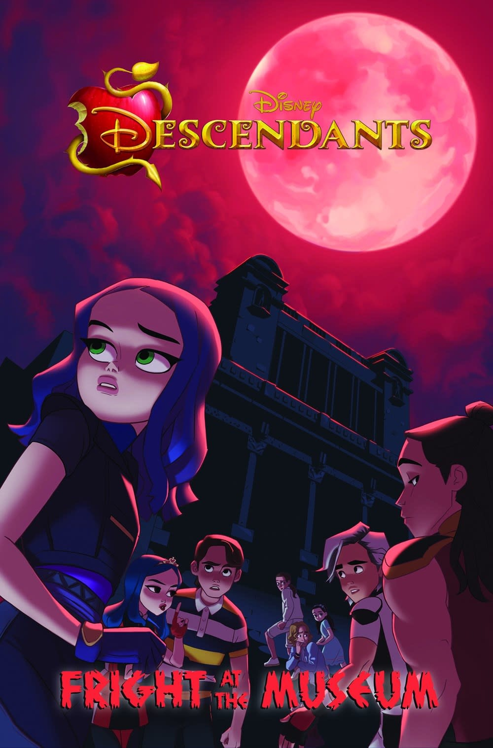 IDW Publishing Disney Descendants: Fright at the Museum