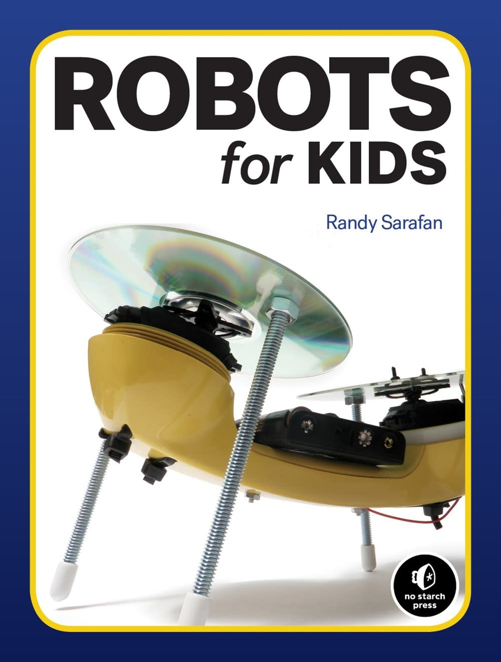 No Starch Press Robots for Kids