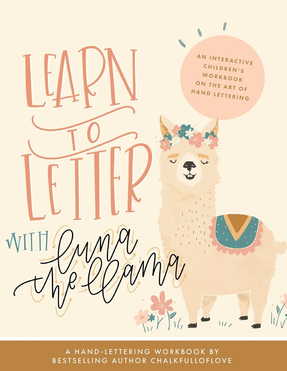 Paige Tate & Co Learn to Letter with Luna the Llama