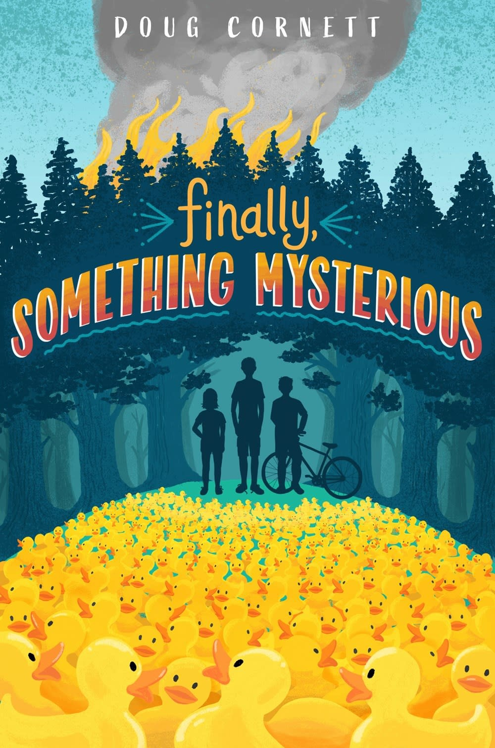 Knopf Books for Young Readers Finally, Something Mysterious