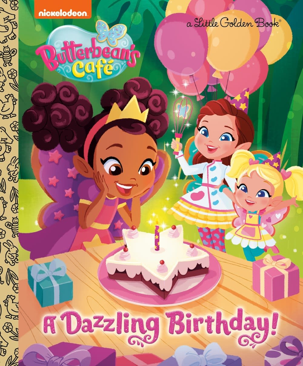 Golden Books Butterbean's Cafe: A Dazzling Birthday!