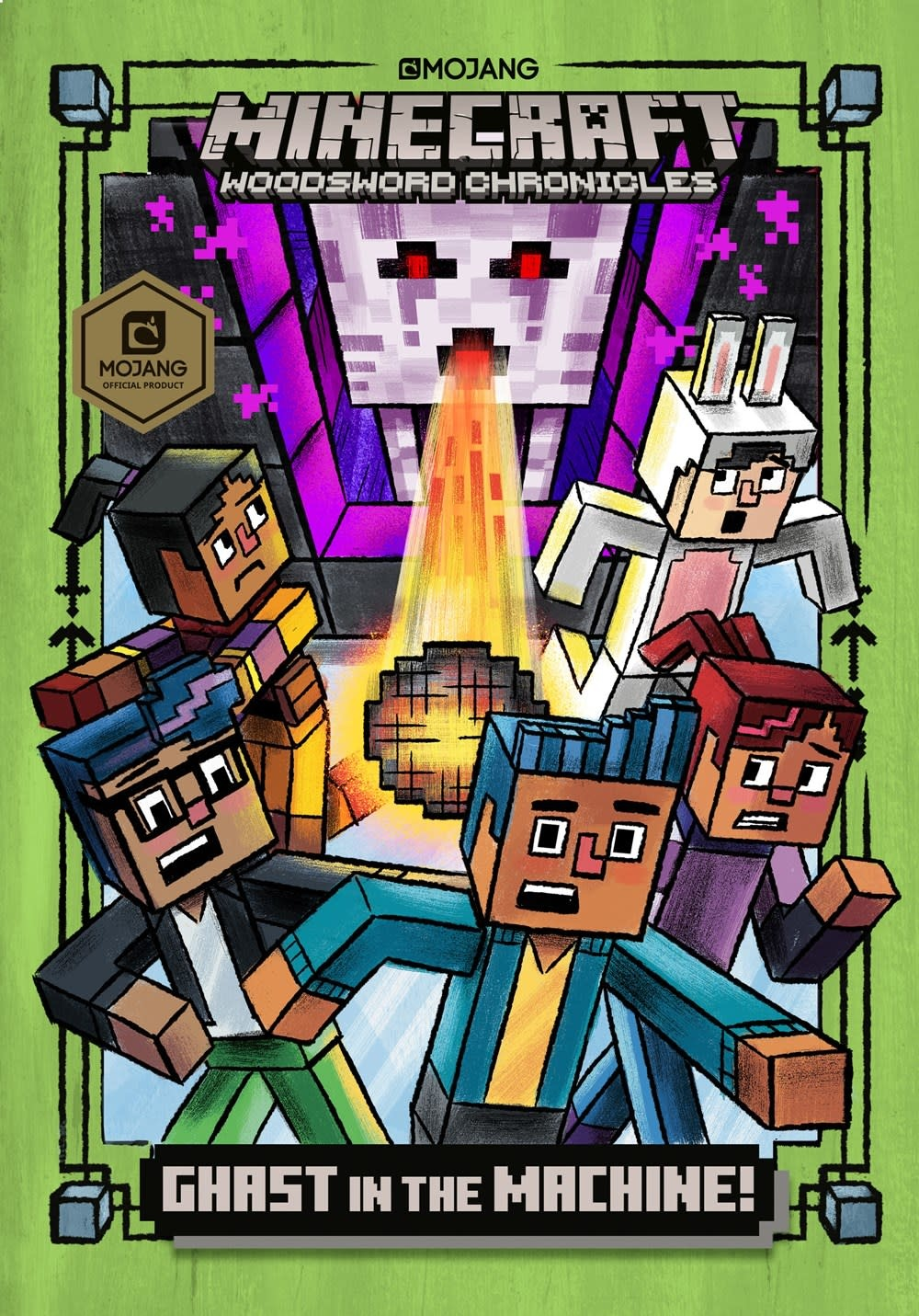 Random House Books for Young Readers Minecraft Woodsword Chronicles  04 Ghast in the Machine!
