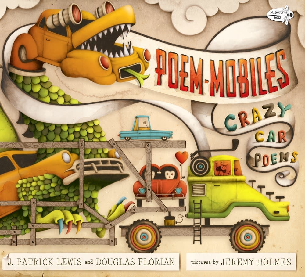 Dragonfly Books Poem-mobiles: Crazy Car Poems