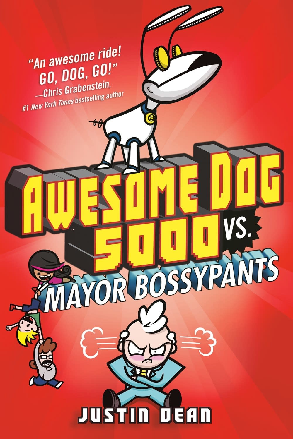 Random House Books for Young Readers Awesome Dog 5000 02 vs. Mayor Bossypants