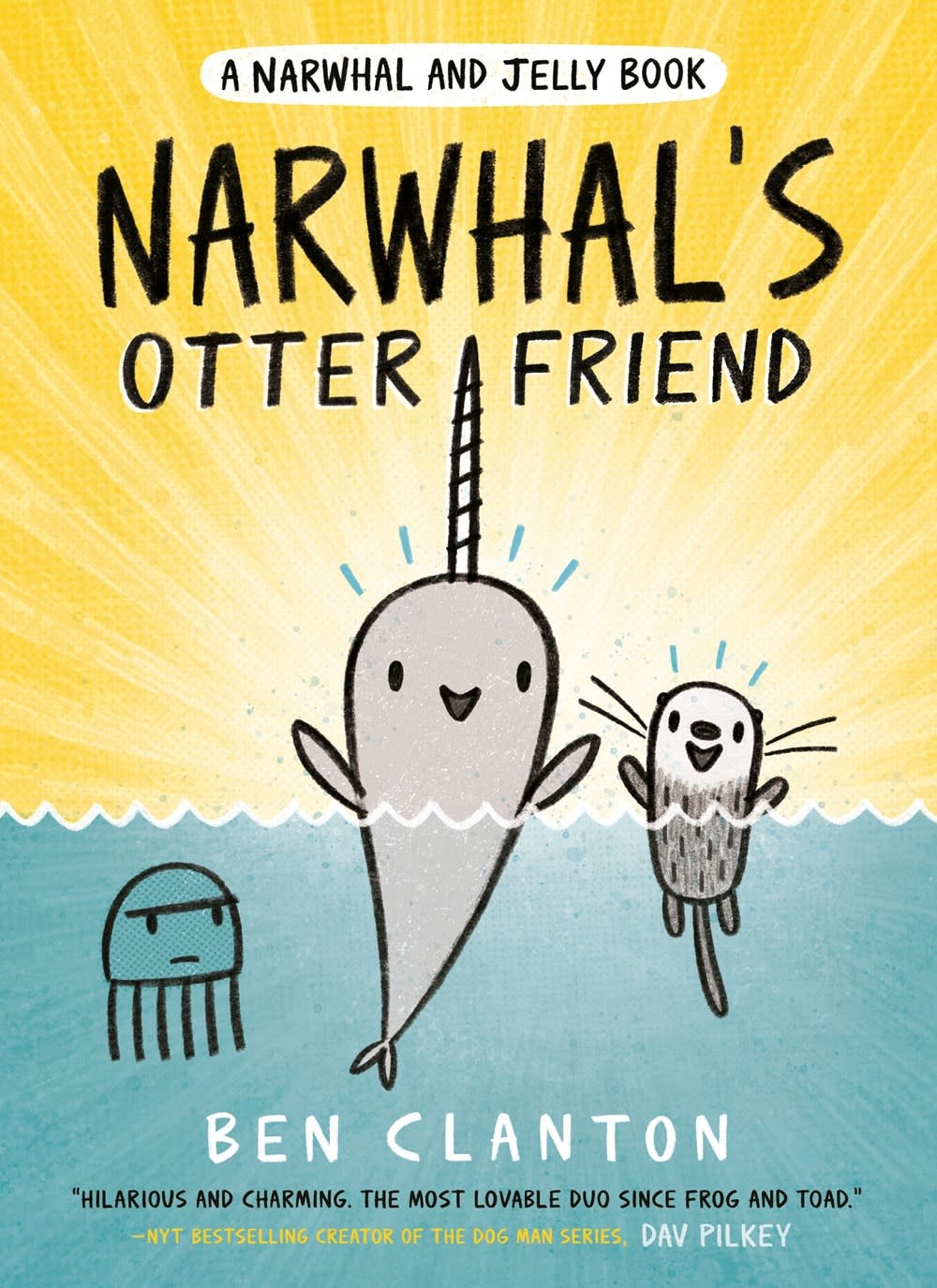 Tundra Books Narwhal and Jelly 04 Narwhal's Otter Friend