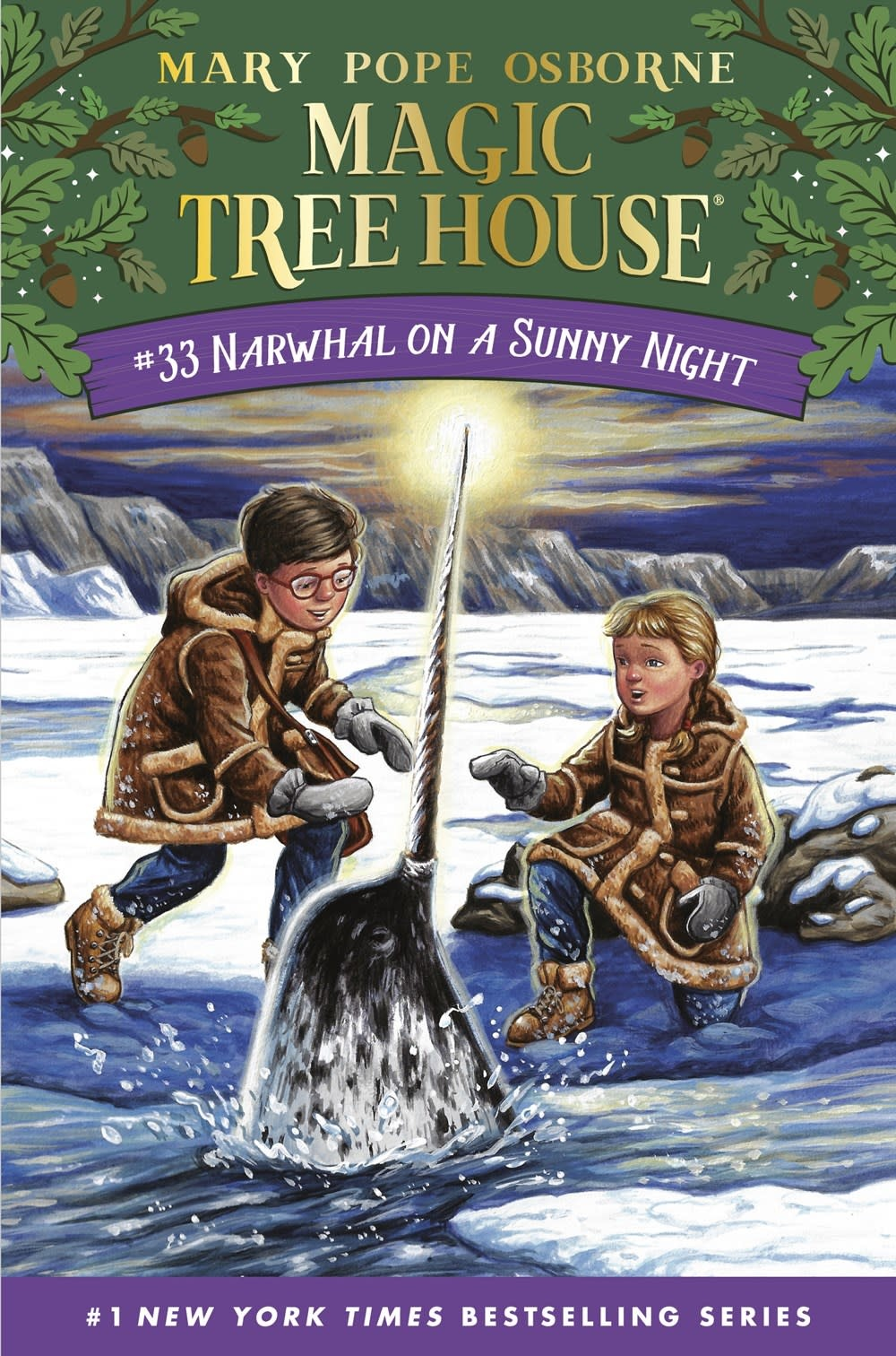Random House Books for Young Readers Merlin Missions 33 Narwhal on a Sunny Night