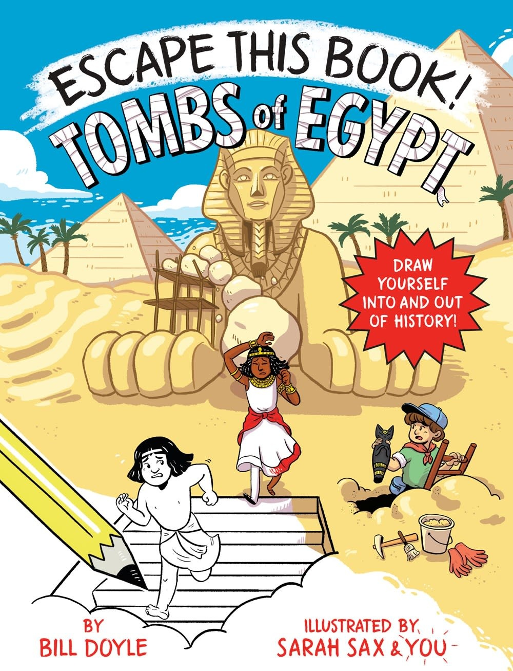 Random House Books for Young Readers Escape This Book! Tombs of Egypt