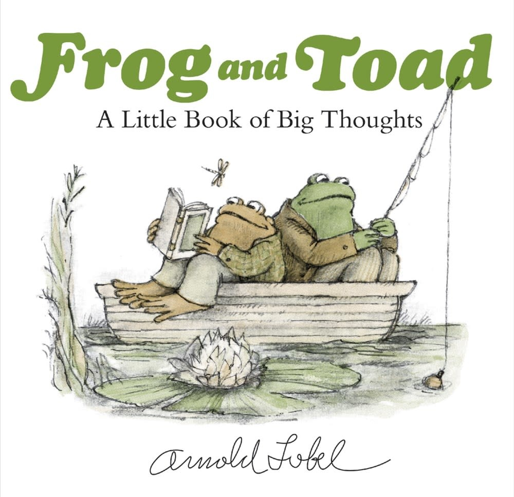 HarperCollins Frog and Toad: A Little Book of Big Thoughts